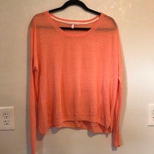❄️VS Pink/Coral Long Sleeve Shirt